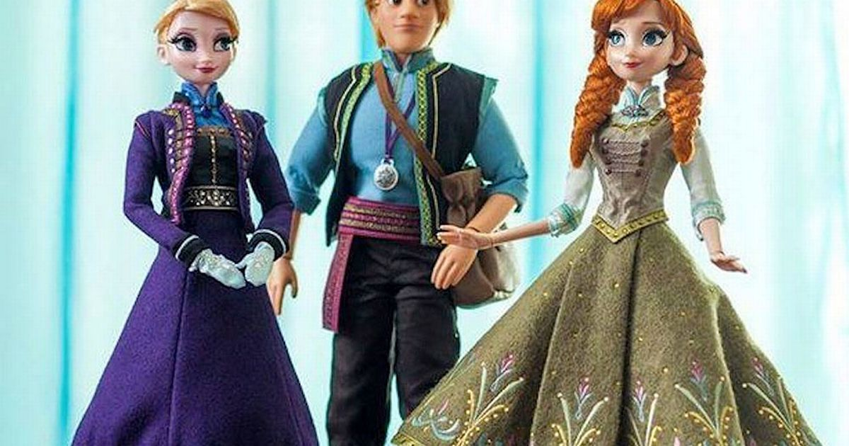 Disney Frozen dolls being flogged on eBay for 250 after