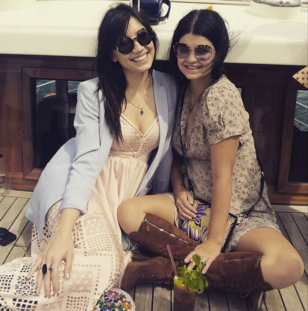 Daisy Lowe and Pixie Geldof on holiday in Istanbul, Turkey