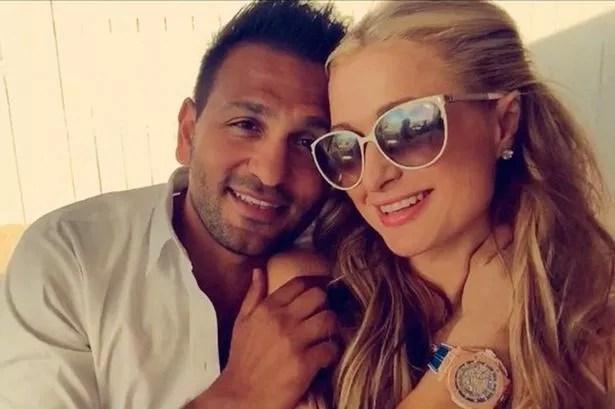 Paris Hilton and Joe Fournier on Instagram