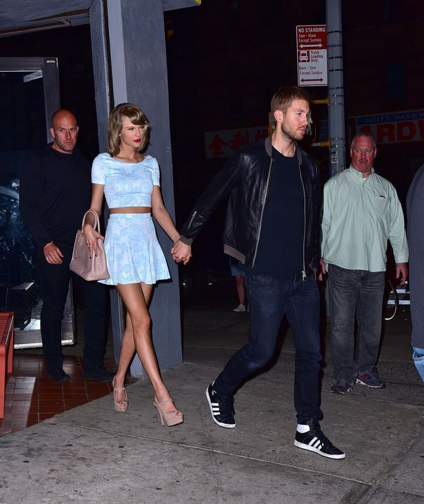 Taylor Swift and Calvin Harris seen out and about in New York City