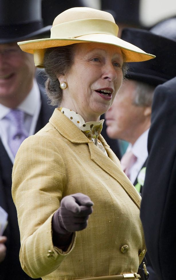 Princess Annes golden years revealed as Royal Ascot pic