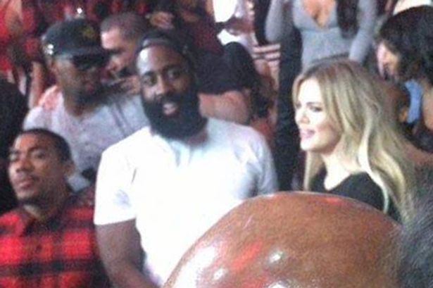 1st appearance of Khloe Kardashian and rumored bf James Harden holding each other and dancing together at Chris Brown's party in Las Vegas. The pair looked very happy as Khloe raised her arms in the air and swayed them around as her and James shared a fun moment together at their vip table. James was spotted holding a cup and also a bottle in each of his hands as they partied the night away with their friends as fans saw them together for the first time clubbing. Khloe's arm could be seen tucked in with James arm as they held each other before continiung to dance into the late hours in Vegas. James is in town for NBA Summer league basketball.
