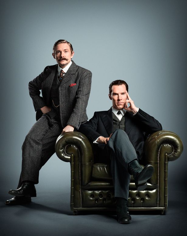 Benedict and Martin have starred in three series of Sherlock