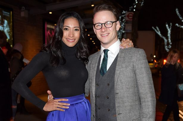 Karen Hauer and Kevin Clifton attend the VIP night for the Northern Ballets rendition of 'The Great Gatsby' at Sadlers Wells Theatre on March 24, 2015 in London, England