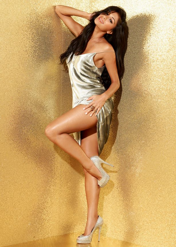 Nicole Scherzinger on a photoshoot