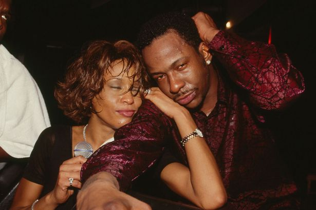 Image result for bobby brown and whitney