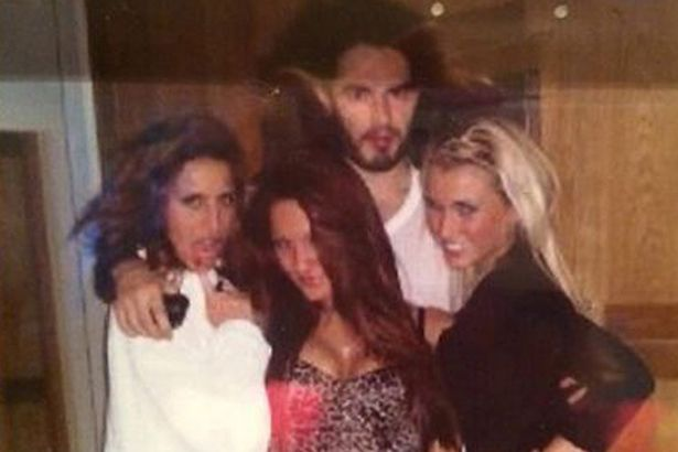Sam Faiers & Russell Brand pictured together