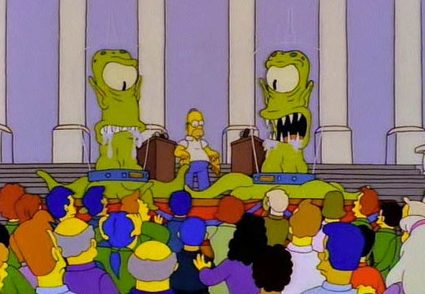 Image result for the simpsons treehouse of horror vii
