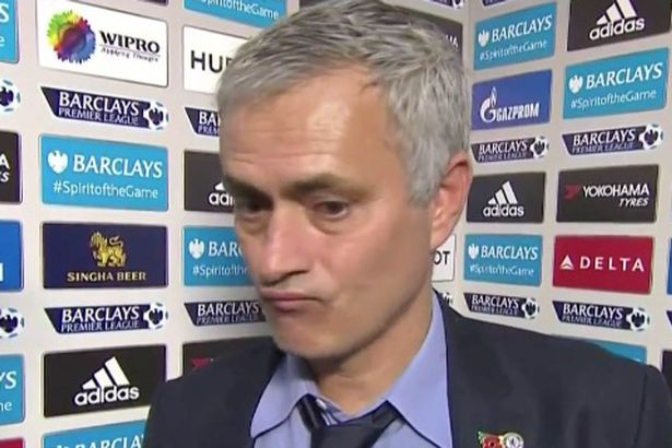 Jose Mourinho post-match interview