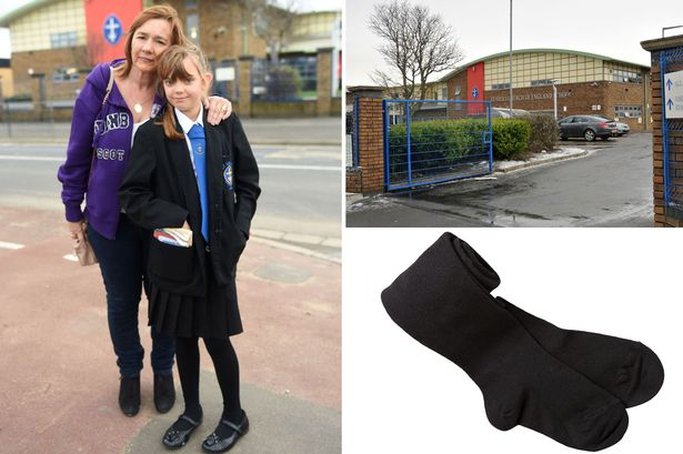Parents outraged as school insists girls wear tights with