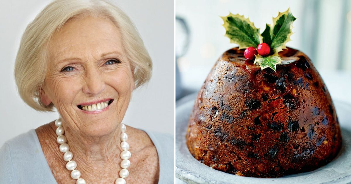 Mary Berry S Christmas Pudding Recipe Bake Off Star S Top