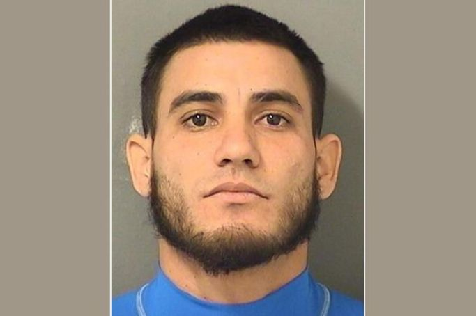 Javier Orelly, 28, faces two charges of animal cruelty