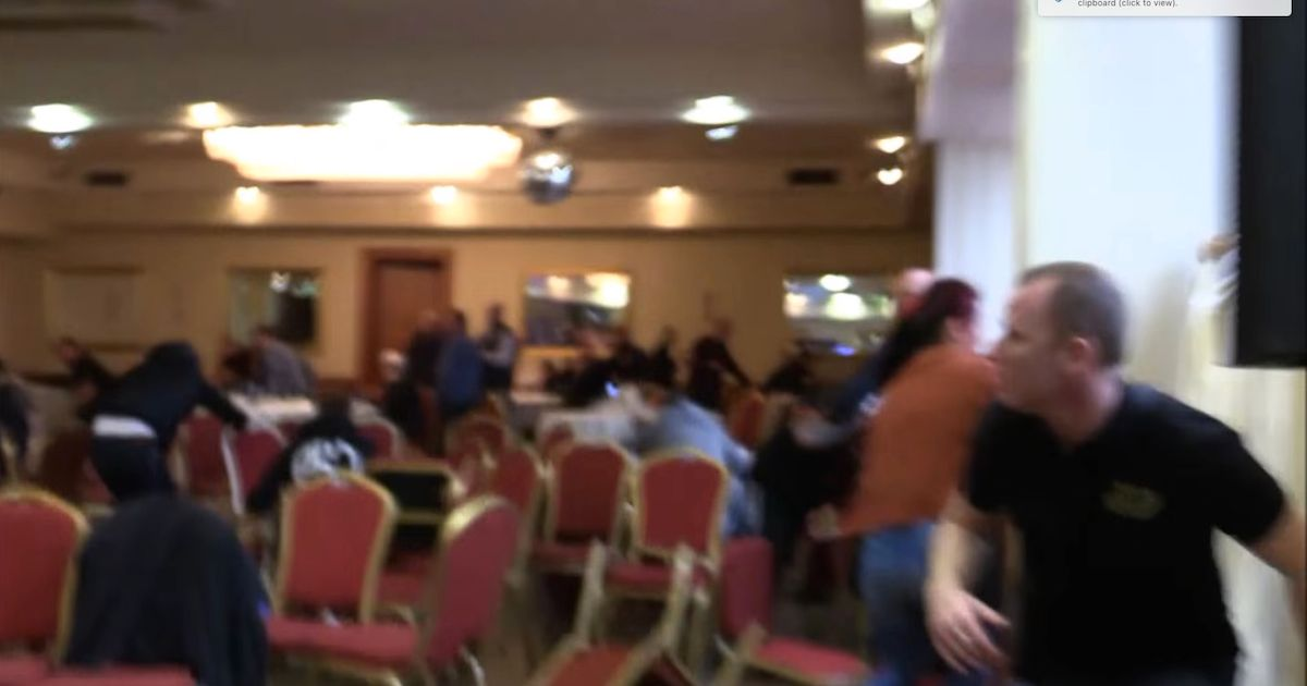 Horrific Video Shows Dublin Boxing Weigh In Shooting