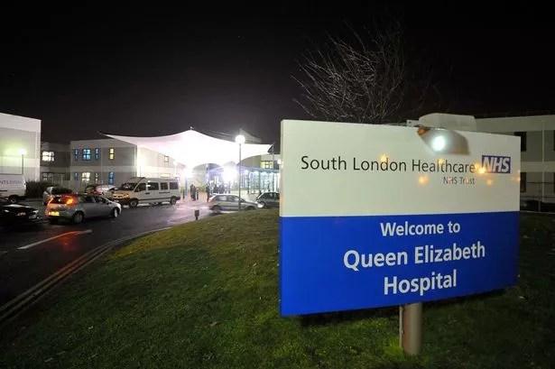 Queen Elizabeth Hospital in Woolwich