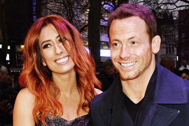 Joe Swash and Stacey Solomon at the 'Game Of Thrones' gala screening of season 5