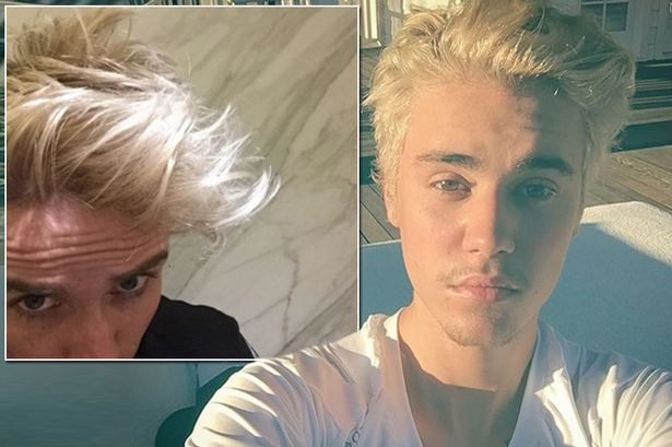 Nick Grimshaw dyes his hair bleach BLONDE as he copies