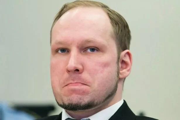 Anders Behring Breivik, who killed 77 people in twin attacks in Norway