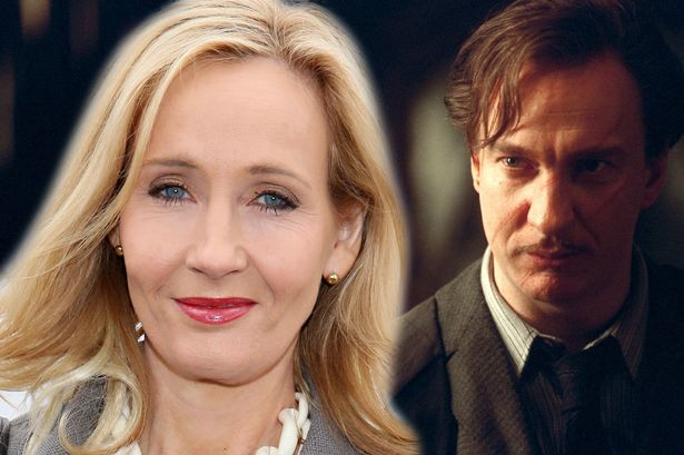 JK Rowling apologises for death of Remus Lupin