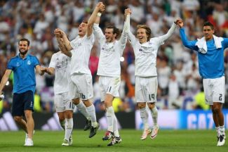 Image result for Real Madrid to play rival City in Champions League semifinals