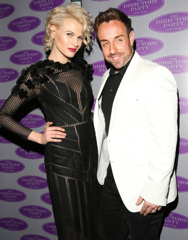 Chloe Jasmine and Stevi Ritchie at London's Next Top Model - launch party in Euston at the Director's Party Lounge in London, England