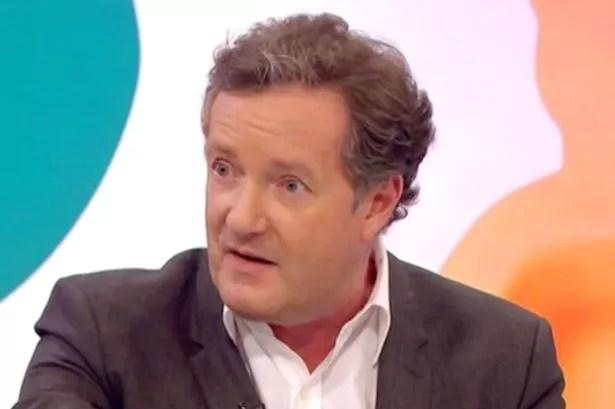 Piers Morgan on Loose Women