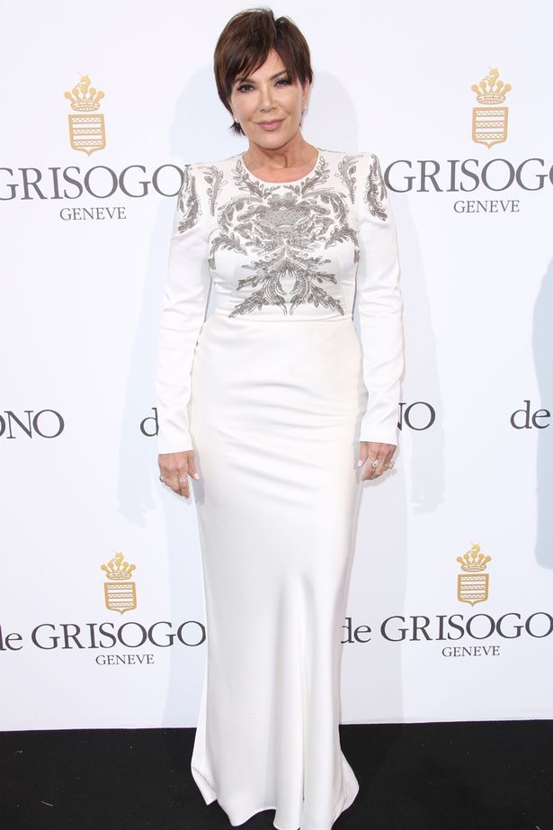 Kris Jenner at De Grisogono Party
