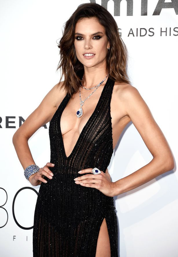 Alessandra Ambrosio at the amfAR's 23rd Cinema Against AIDS Gala in Cannes, France
