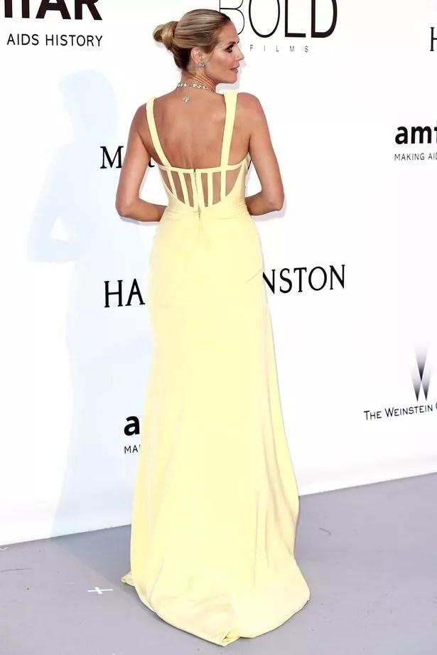 Heidi Klum at the amfAR's 23rd Cinema Against AIDS Gala in Cannes,
