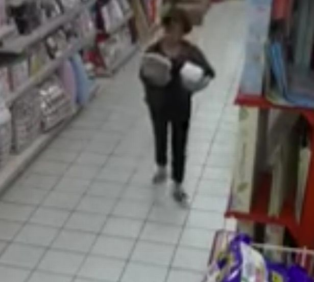 Woman 'possessed' by devil in Chinese supermarket.