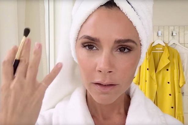 Victoria Beckham shares her 5 minute makeup tips