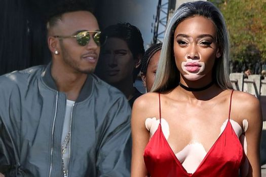 Is Lewis Hamilton dating striking model Winnie Harlow as ...