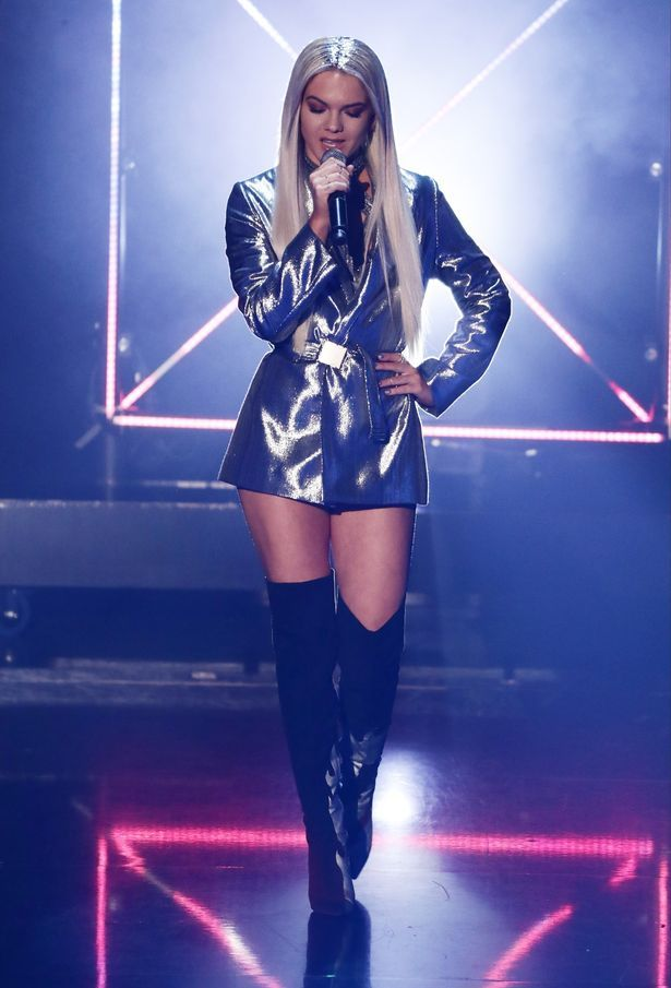 Louisa Johnson. The X Factor Live Finals