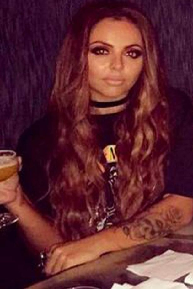 Jesy Nelson without engagement ring