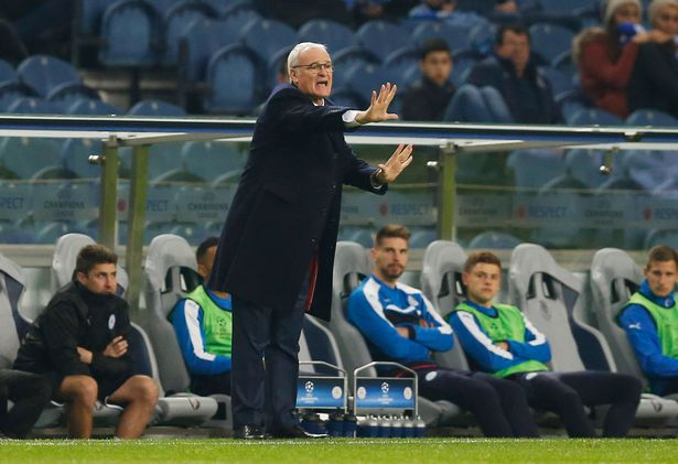 Image result for porto 5-0 leicester