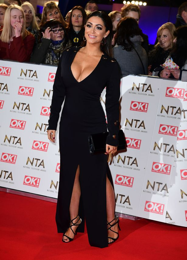 Casey Batchelor arriving at the National Television Awards 2017, held at The O2 Arena, London