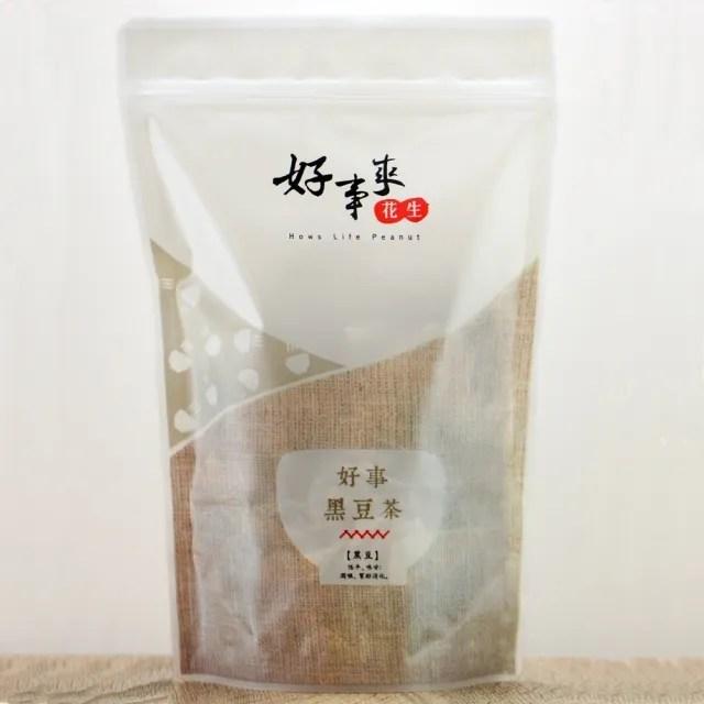 【好事來花生】好事黑豆茶300g(決明子、黑豆、紅小麥)