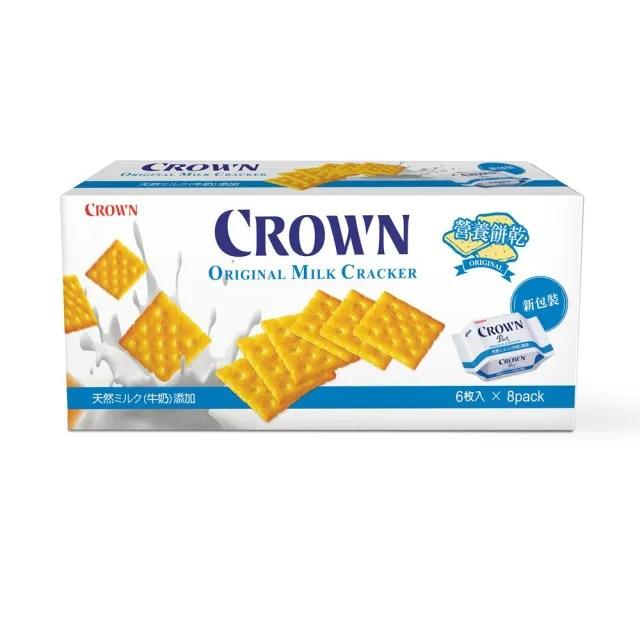 【CROWN 皇冠】原味營養餅乾(200g)