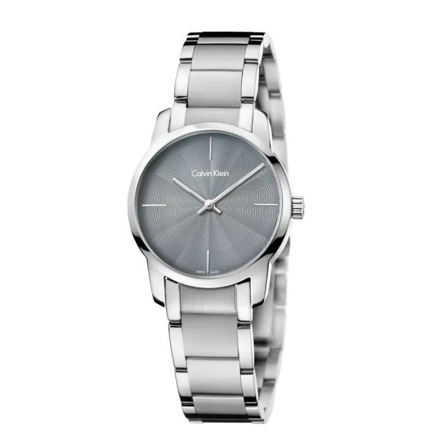 【Calvin Klein】CK極簡質感三針腕錶31mm(K2G23144)