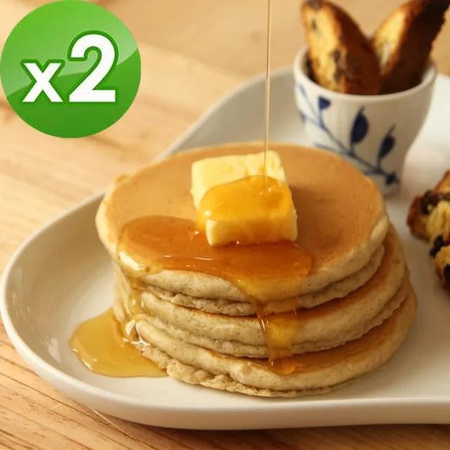 【日本九州Pancake】七穀原味鬆餅粉x2入組(200g/入)