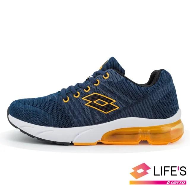 【LOTTO】運動鞋 兒童鞋  SUPERLITE 氣墊跑鞋(丈青-LT0AKR1616)