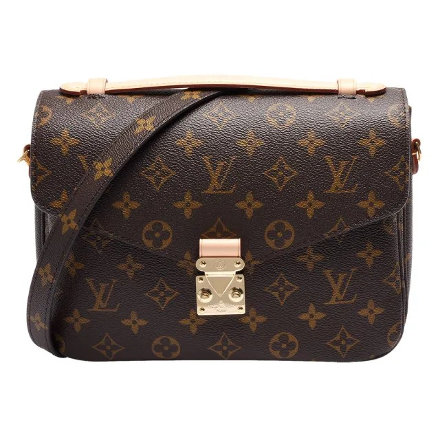 【Louis Vuitton 路易威登】M44875 METIS系列經典Monogram手提/斜背郵差包
