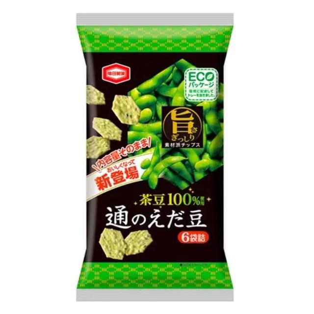 【龜田】茶豆米果70g(來自日本的美味)