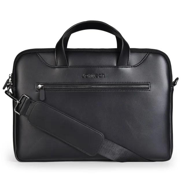 【Jokitech】13吋 13.3吋 Macbook筆電包 通用手提電腦包 黑色(事務包 公事包)