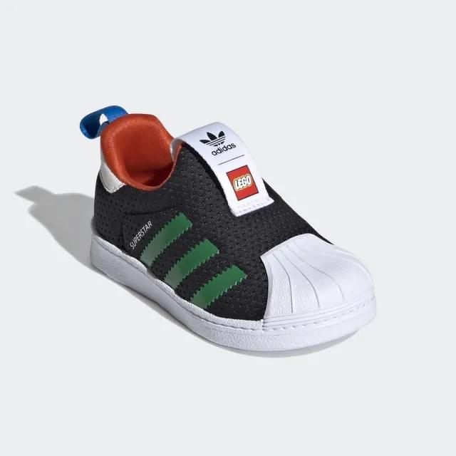 【adidas官方旗艦館】童鞋 SUPERSTAR 360 X LEGO 經典鞋 男童/女童(FX4924)