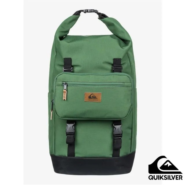 【Quiksilver】男款 配件 後背包 SEA STASH PLUS(綠色)