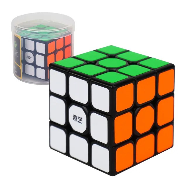 【888ezgo】魔方格筒裝三階比賽專用魔術方塊(授權)(筒裝收納)
