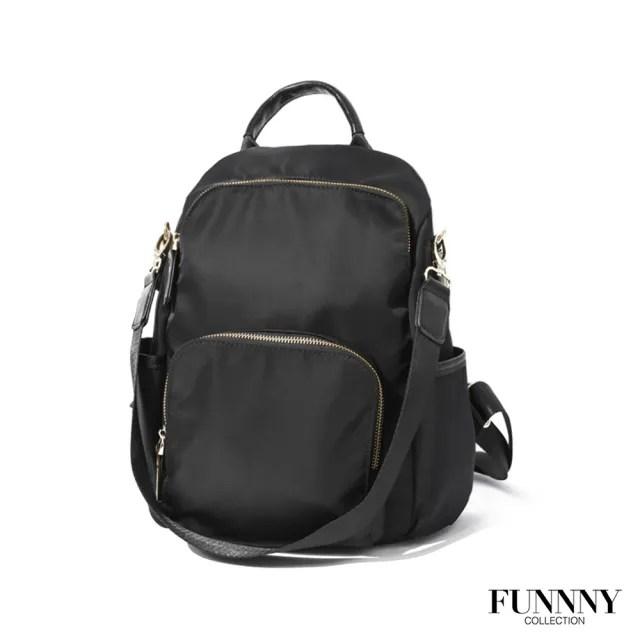 【FUNNNY】防盜後背包系列 Raina 經典黑(後背包)