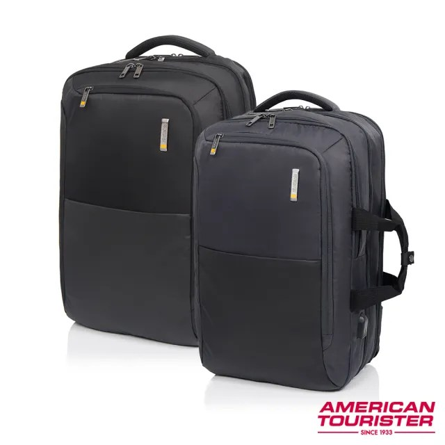 【AT美國旅行者】Segno多功能兩用筆電後背包17吋 多色可選(HD1)