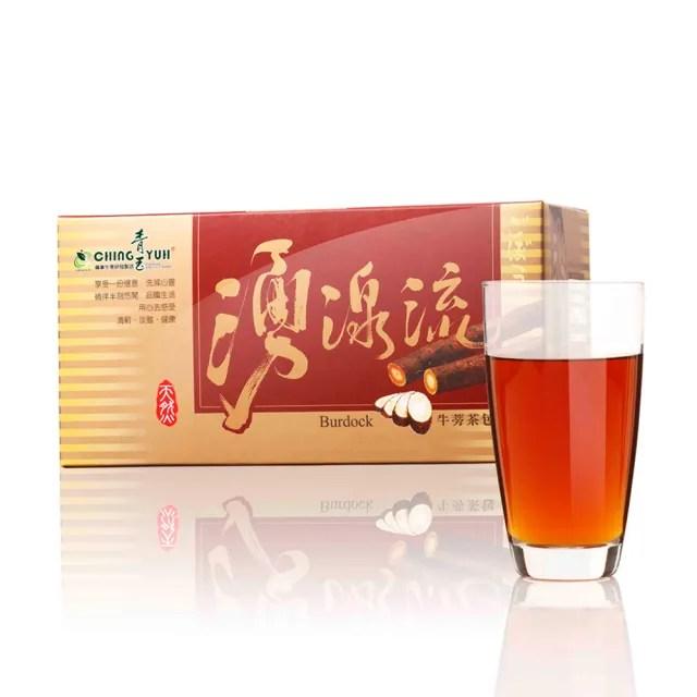 【青玉牛蒡茶】湧泉流紅棗牛蒡茶包(6g*20包入/盒)