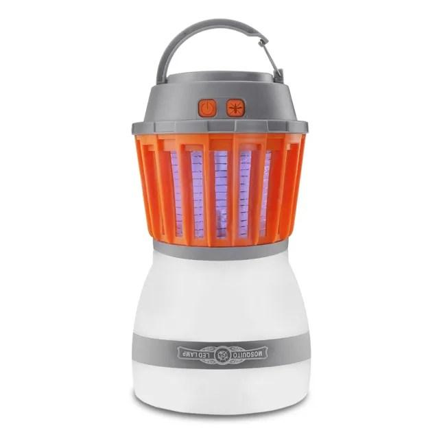 【趣野】MT3 LED照明補蚊燈 電擊捕蚊燈 IP67防水(照明燈 露營燈 捕蚊燈)